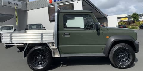 Suzuki Jimny offered as ute by New Zealand dealer