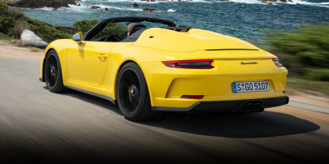 2019 Porsche 911 Speedster review