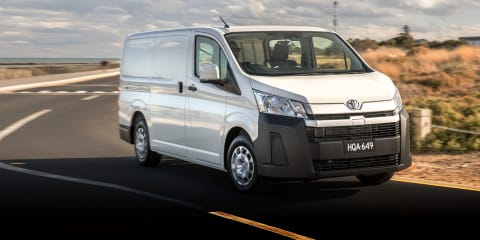 Toyota HiAce: Review, Specification, Price | CarAdvice