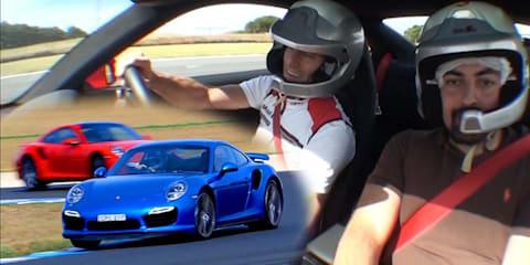 Phillip Island in the Porsche 911 with Mark Webber