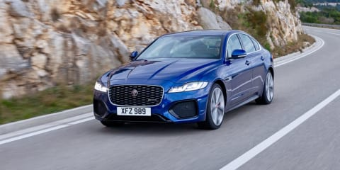 2021 Jaguar XF price and specs: Updated range cut to a single offering