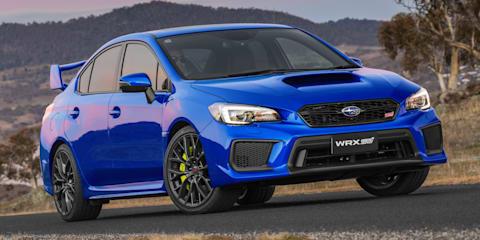 Subaru WRX STI hits 10,000 sales in Australia