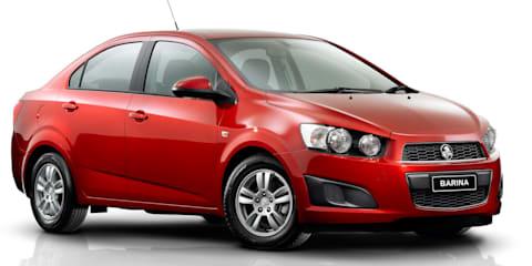 Holden Barina sedan released