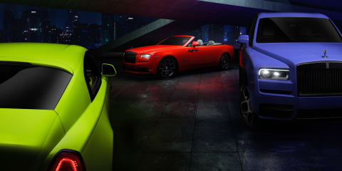 2021 Rolls-Royce Cullinan, Dawn and Wraith Black Badge gain Neon Nights special editions