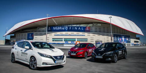 Experiencing Nissan's electric vehicle charging infrastructure in Madrid