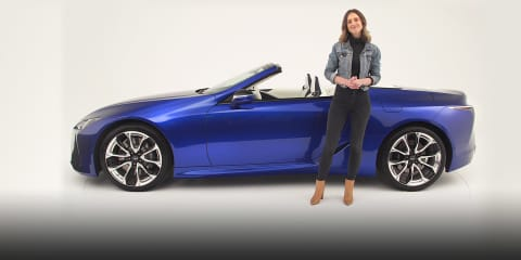 Video: 2020 Lexus LC500 Convertible walkaround
