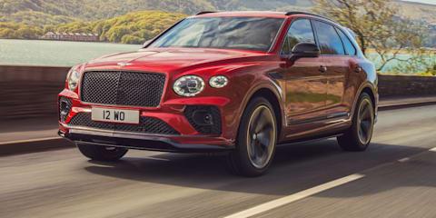 2022 Bentley Bentayga S revealed, Australian launch due early 2022