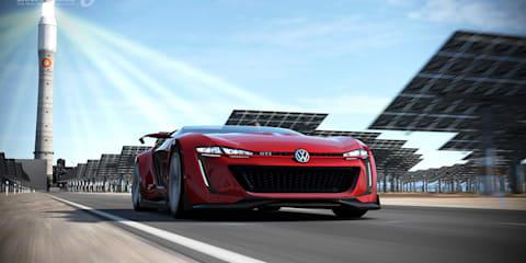 Volkswagen Golf GTI Roadster Vision Gran Turismo digitally revealed
