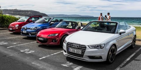 Convertibles for Summer : we test four affordable contenders