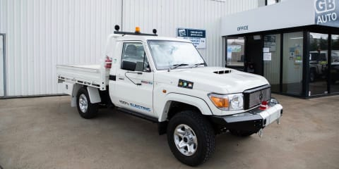 Electric Toyota LandCruiser and HiLux are go: Aussie company wins major deal