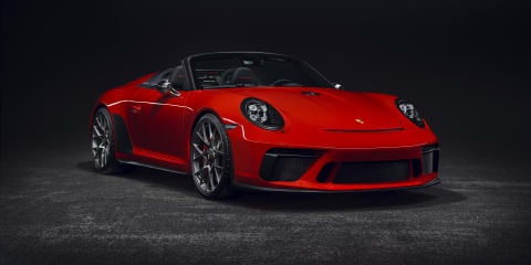 Porsche 911 Speedster set for production