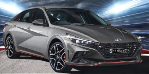 Hyundai i30 N performance sedan: is this how it will look?