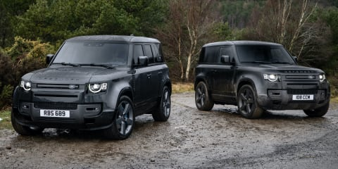 2022 Land Rover Defender supercharged V8 is go! Due in Australia in July