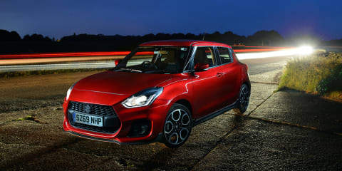 2020 Suzuki Swift Sport gets 48V mild hybrid in Europe