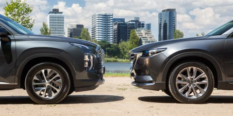 2021 Mazda CX-9 GT v Hyundai Palisade V6