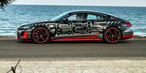 2021 Audi RS E-Tron GT review: Prototype test