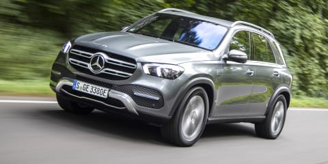 Mercedes-Benz GLC300e, GLE350de PHEVs revealed