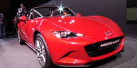 2014 Mazda MX-5 - first look