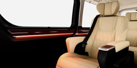 2020 Toyota Granvia: Initial details