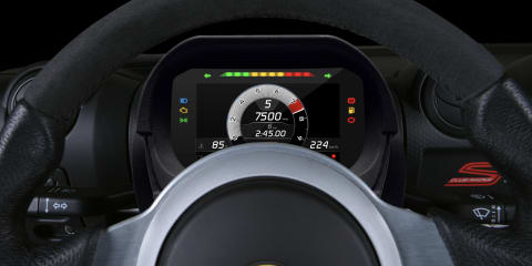 Lotus shows off plug-and-play digital dash