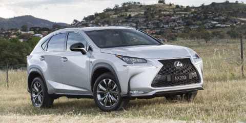 2015 Lexus NX200t pricing and specifications