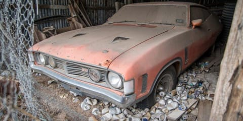 "Barn find! Ford Falcon XA GT RPO 83 ""Chicken Coupe"" could sell at auction for $200,000"