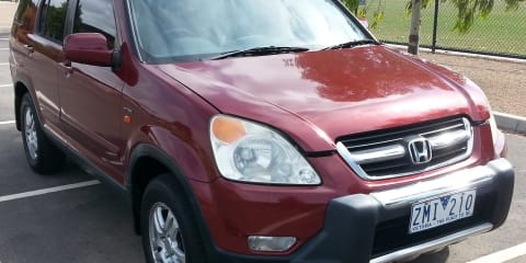 2003 Honda CR-V (4x4) Sport review