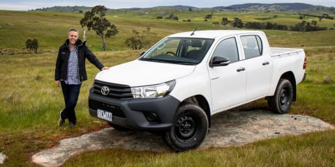 2016 Toyota HiLux Workmate review