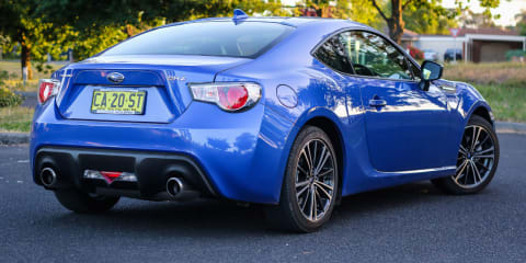 2015 Subaru BRZ - spare tyre tip