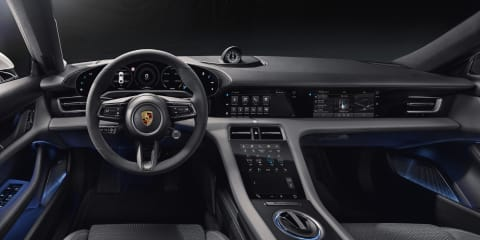 2020 Porsche Taycan interior revealed