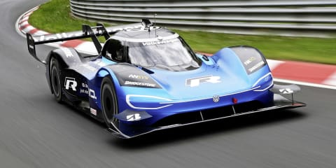 Volkswagen ID. R sets Nürburgring efficiency record