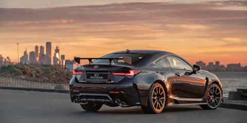 2019 Lexus RC F pricing and specs