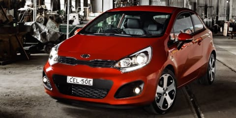 Kia Rio turbo on the way