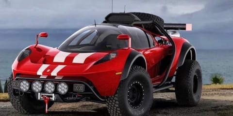 US supercar company builds a desert-racer Dune Buggy