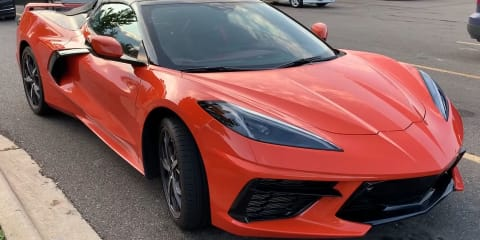 2021 Chevrolet Corvette convertible spotted in the wild