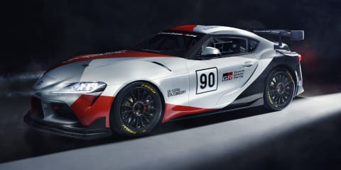 Toyota Supra GT4 Concept unveiled
