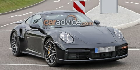 2020 Porsche 911 Turbo spied virtually undisguised