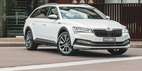 2020 Skoda Superb Scout: 200TSI special edition