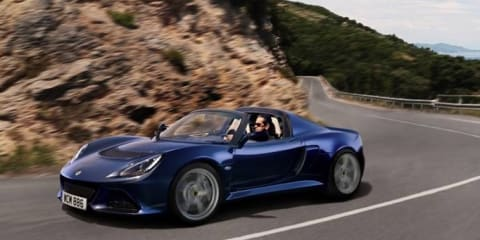 Lotus Exige S Roadster: Brit's quickest convertible here in 2014