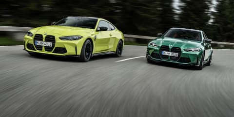 2021 BMW M3 sedan and M4 Coupé photos
