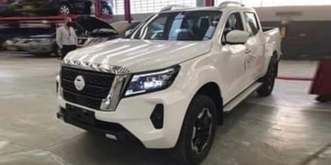 2021 Nissan Navara caught undisguised – UPDATE: Teased!