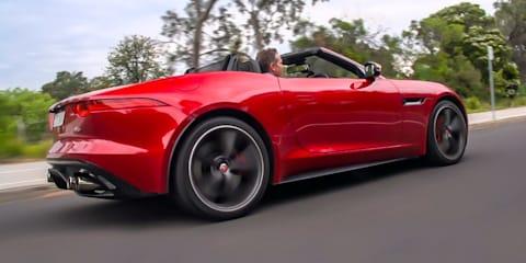 Jaguar F-Type V8 Exhaust