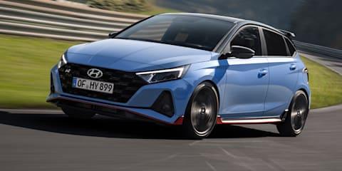 Video: 2021 Hyundai i20 N shown on track