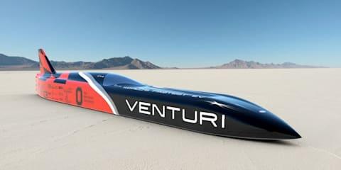 Venturi VBB-3 targeting 700km/h-plus EV speed record
