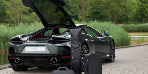 McLaren GT by MSO: Bespoke luggage set revealed