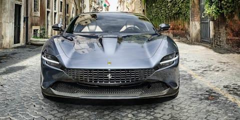 2021 Ferrari new cars