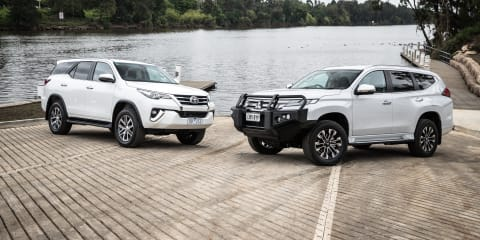 2020 Toyota Fortuner v Mitsubishi Pajero Sport comparison: ON ROAD