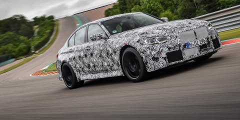 2021 BMW M3, M4 review: Prototype test