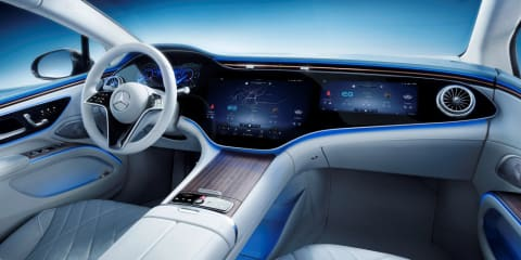 2021 Mercedes-Benz EQS interior unveiled
