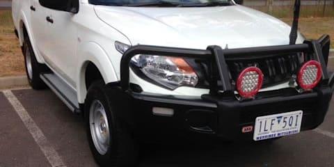 2017 Mitsubishi Triton GLS (4x4) review
